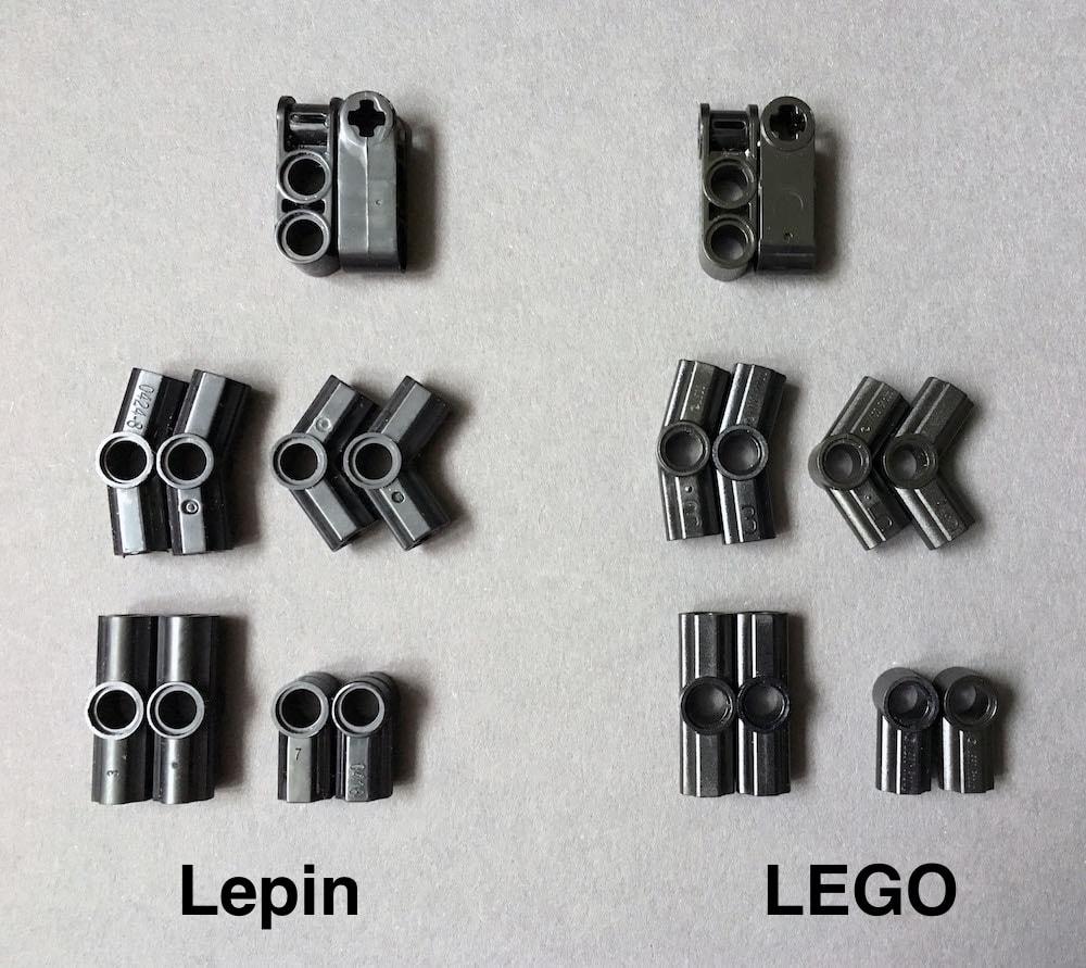 connectors lego lepin
