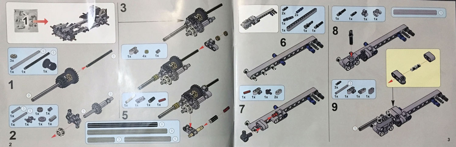 lepin instruction 20053