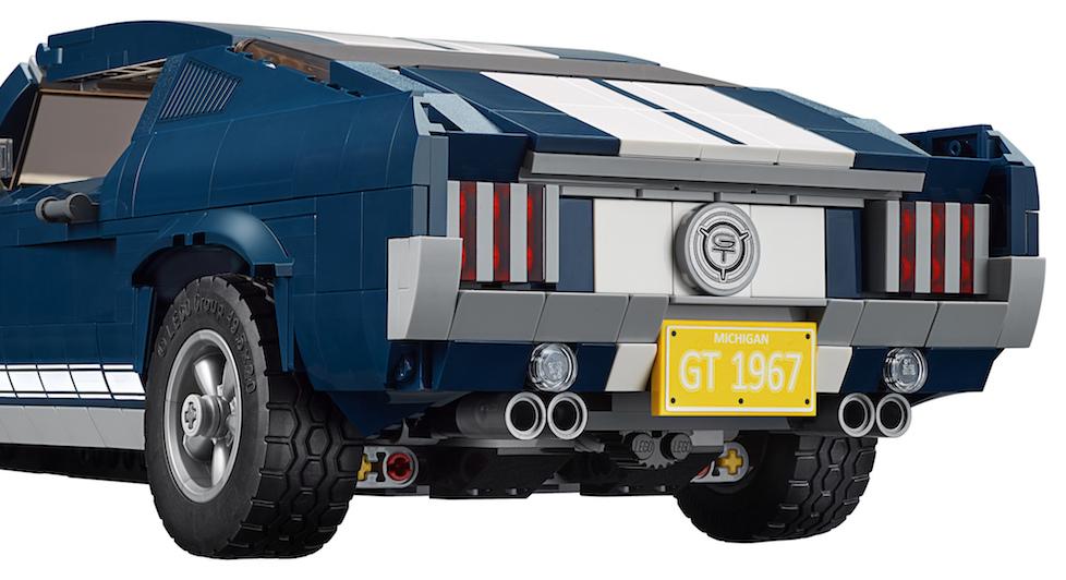 Lego 1 Dark Bluish Gray motor engine with scoop car truck NEW