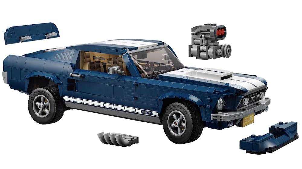 lego mustang upgrade