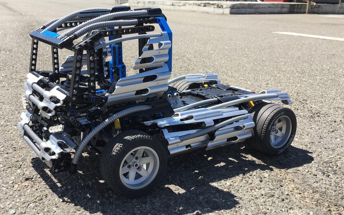 Lego Technic Silver Champion Truck 8458 Moc Technicstory